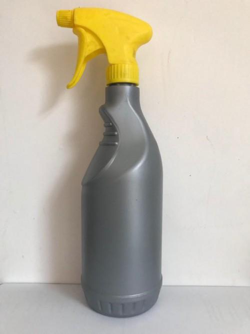 QMF - lege fles/bottle met gele sprayer - 700ml